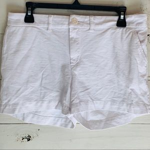 Chubbies Womens White Shorts Classic
